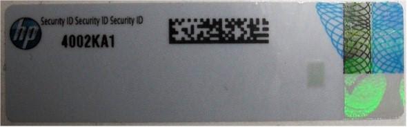تشخیص اصالت محصول ساخت شرکت HP