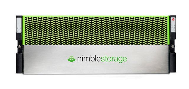 ذخیره ساز تمام فلش nimble storage
